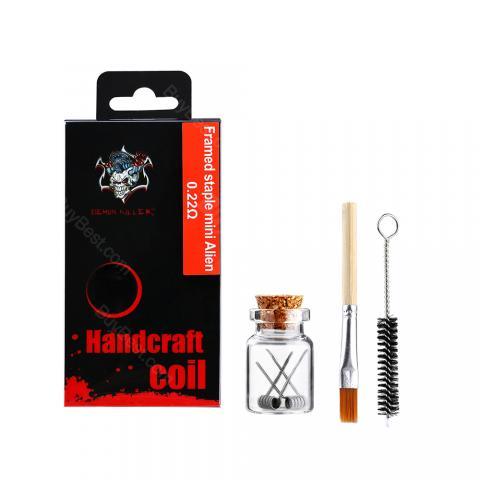cheap Demon Killer Framed Staple Mini Alien Coil 2pcs/pack - 0.22ohm