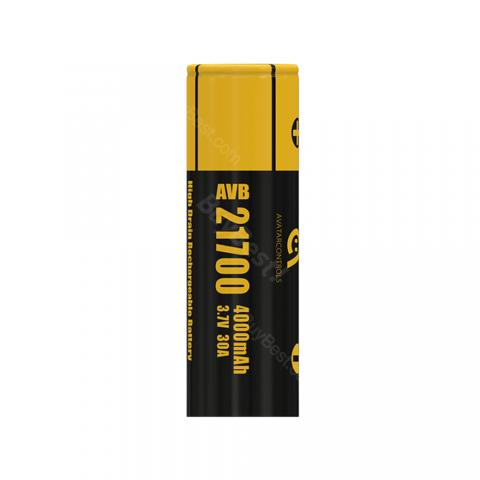 Avatar AVB 21700 30A High-drain Li-ion Battery - 4000mAh