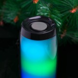 Vapeonly Wireless LED Portable Bluetooth Speaker with Color Changing - Black-2
