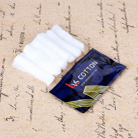 Lvs Vape Combed Cotton 10pcs/pack