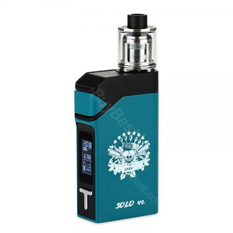 cheap 200W IJOY Solo V2 Kit with Limitless Subohm Tank - Teal