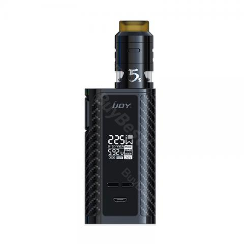 cheap 225W IJOY Captain PD1865 Starter Kit with RDTA 5S Tank - Black