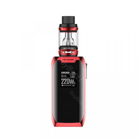 cheap 220W Vaporesso Revenger X TC Kit with NRG Tank - Red 5ml