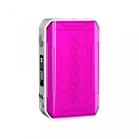 cheap 200W WISMEC SINUOUS V200 MOD - Magenta
