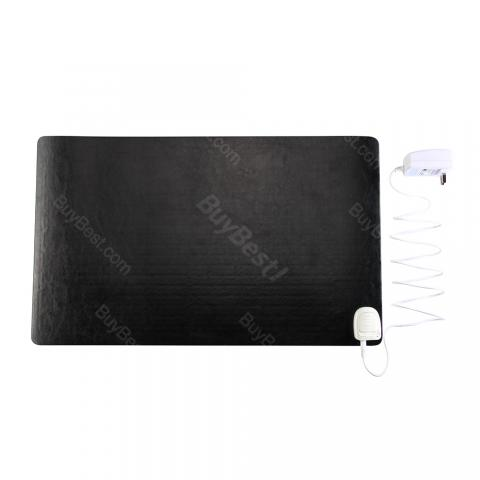 cheap Warm Electric Table Mouse Pad - Black