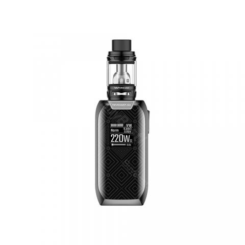 cheap 220W Vaporesso Revenger GO Kit 5000mAh with NRG/NRG Mini Tank - Black 2ml