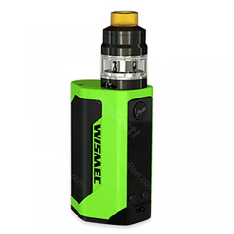 cheap 300W WISMEC Reuleaux RX GEN3 TC Kit with Gnome Tank - Green
