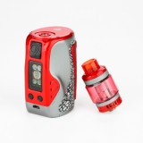 300W Wismec Reuleaux Tinker Starter Kit with Column Tank - Red 2ml-2