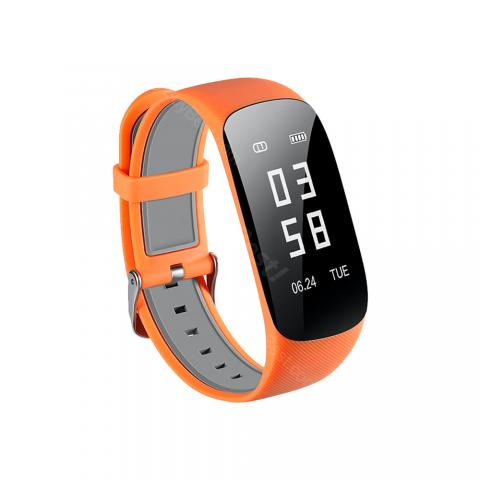 cheap ET Z17HR Smart Heart Rate Bracelet - Orange