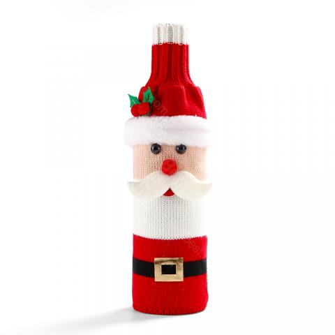 cheap G&T Christmas Bottle Decoration Set Bottle Cover For Christmas - Type A