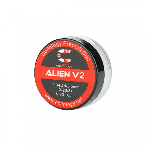 cheap Coilology Alien V2 Coil 10pcs/pack - 0.34ohm