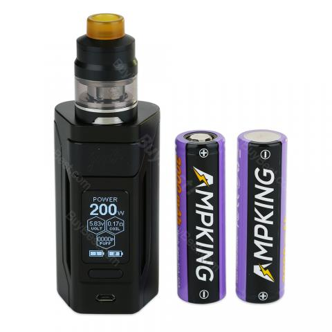 200W WISMEC Reuleaux RX2 20700 TC Kit 6000mAh With Gnome Tank