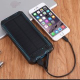 ET Waterproof Solar Powerbank for iPhone/Xiaomi - 6000mAh, -2