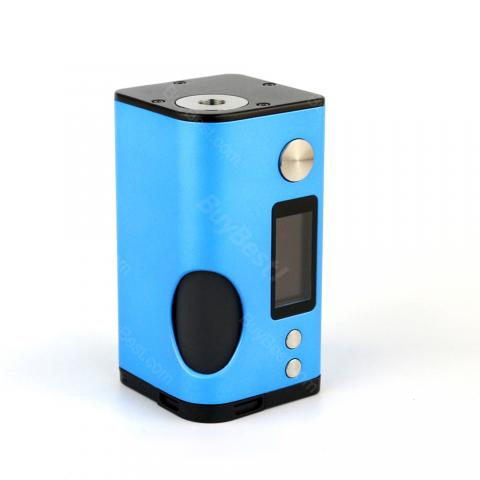 cheap 180W Basium Squonker Mod by Vaping Biker and Dovpo - Blue