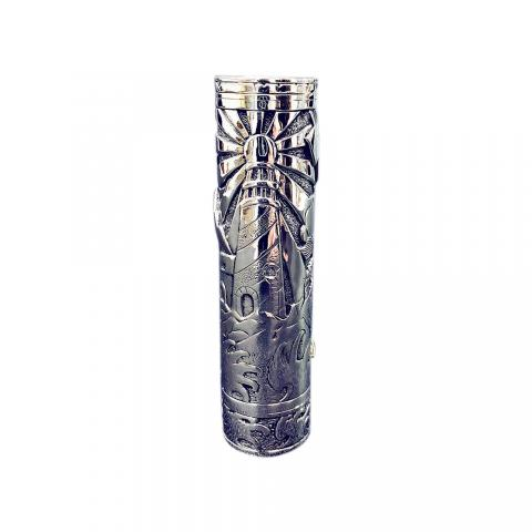 cheap Eugene Lighthouse Manual Carving Mech Mod  - Type A