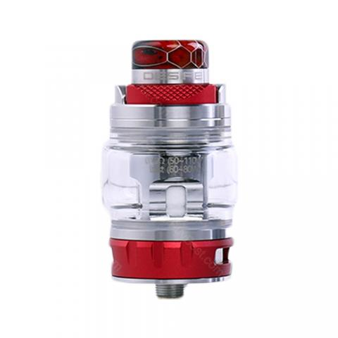 cheap Desire Bulldog Tank with Bottom Dual Holes Intake - 4.3ml, Red