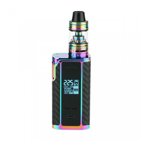 cheap 225W Vapeonly Captain PD1865 with Captain Mini Tank - Rainbow
