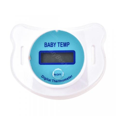 Guucy LED Display Baby Pacifier Thermometer
