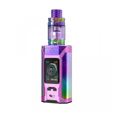 cheap 230W Wismec Sinuous Ravage230 Kit with Gnome King Atomizer - Glossy Purple 5.8ml