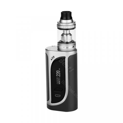 cheap 220W Eleaf iKonn 220 Kit with Ello Atomizer - Silver/Black 2ml