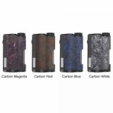200W DOVPO Topside Carbon Dual TC Squonk Mod with YIHI Chipset - Carbon Blue-1