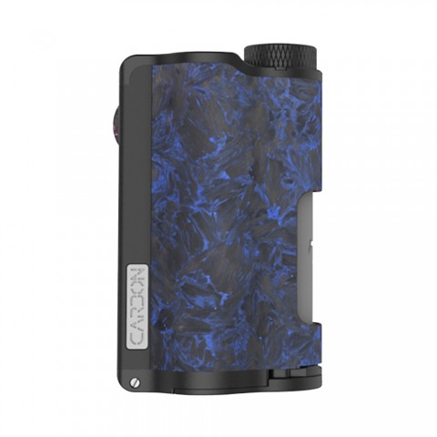 cheap 200W DOVPO Topside Carbon Dual TC Squonk Mod with YIHI Chipset - Carbon Blue