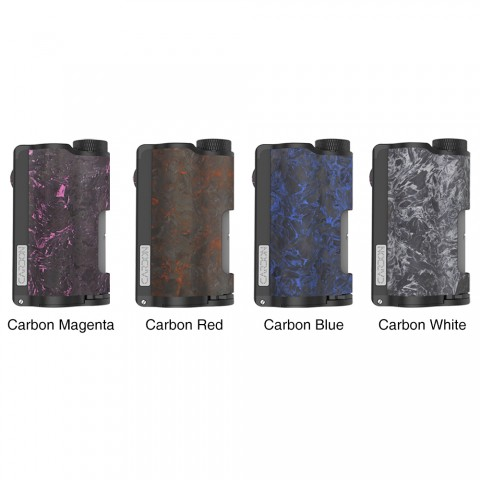 DOVPO Topside Carbon Dual TC Squonk Mod with YIHI Chipset