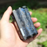 200W DOVPO Topside Carbon Dual TC Squonk Mod with YIHI Chipset - Carbon Blue-4
