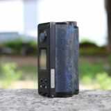 200W DOVPO Topside Carbon Dual TC Squonk Mod with YIHI Chipset - Carbon Blue-5