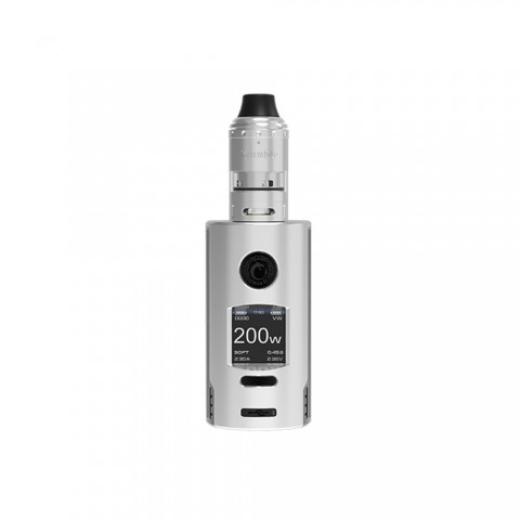 cheap 200W Vapefly Kriemhild Box Mod Kit - Stainless Standard Edition