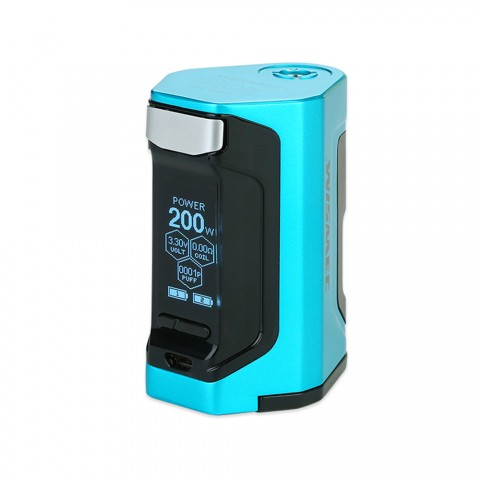 cheap 200W WISMEC Luxotic DF TC Box MOD - Blue