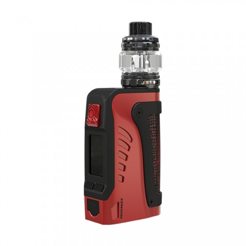 cheap 200W WISMEC Reuleaux Tinker 2 TC Kit with Trough Tank - 2ml/6.5ml, Red 6.5ml with Child Lock
