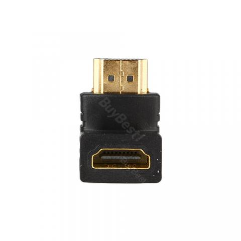 HDMI M to HDMI F Angle Cable Adapter Up/ Down