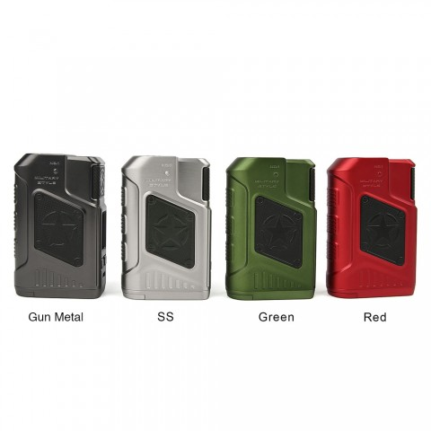 220W Tesla P226 TC Box Mod - Red