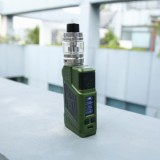 220W Tesla P226 TC Kit with Citrine Tind Tank - Green-1