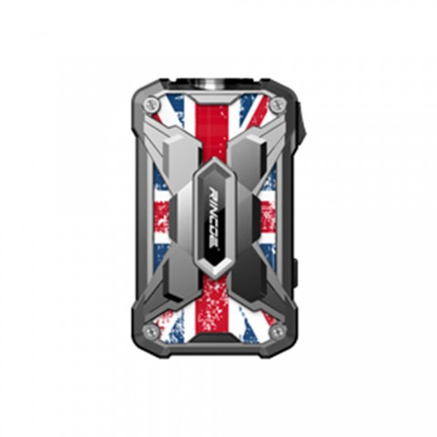 cheap 228W Rincoe Mechman TC MOD - Union Flag-SS Steel Wing