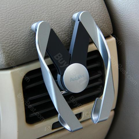 cheap AutoBot M Car Phone Holder for Vents - Silver