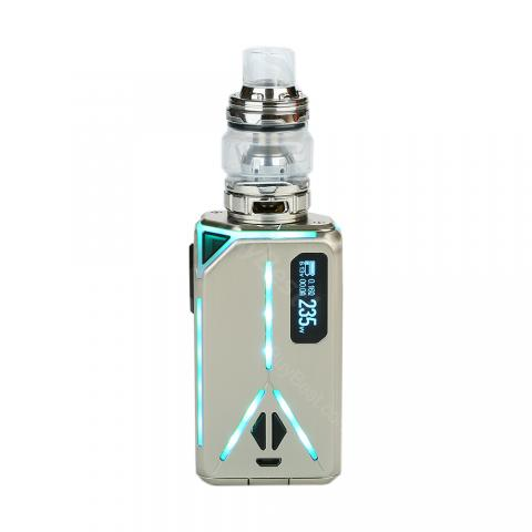 cheap 235W Eleaf Lexicon Kit with Ello Duro Atomizer - Silver 2ml