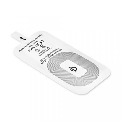cheap Wireless Charging Receiver for iPhone - White
