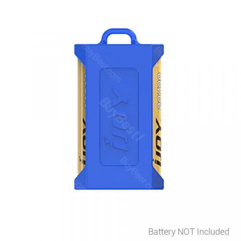 cheap IJOY 20700 Battery Silicon Case for Dual Batteries - Blue
