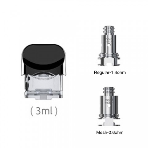 SMOK Nord Replacement Pod & 2coil - 2ml/3ml