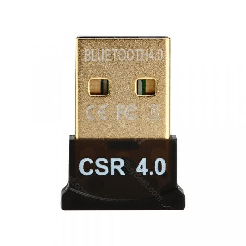 cheap Wireless CSR 4.0 Dongle Bluetooth Receiver - Black