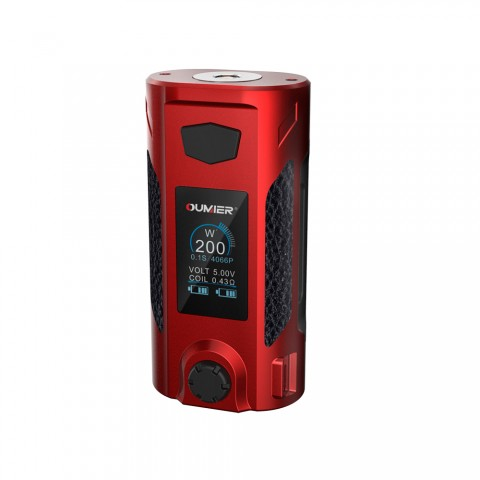 cheap 200W Oumier Rudder TC MOD - Red