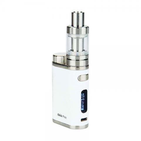 cheap 75W Eleaf iStick Pico TC Kit with MELO 3 Mini Tank - White