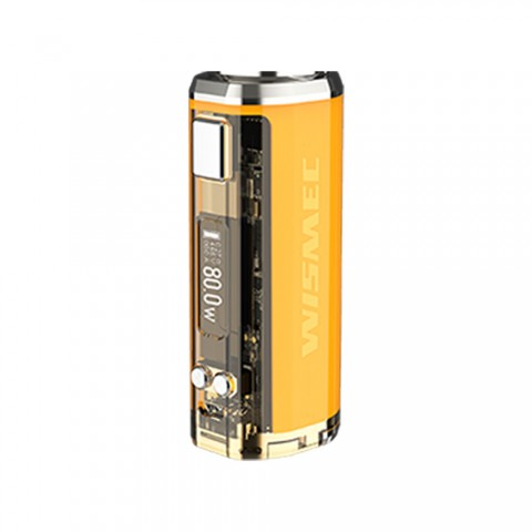 cheap 80W WISMEC SINUOUS V80 TC Box Mod - Yellow