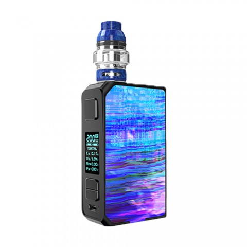 cheap 200W CoilART LUX 200 Starter Kit with LUX Mesh Tank - Blue