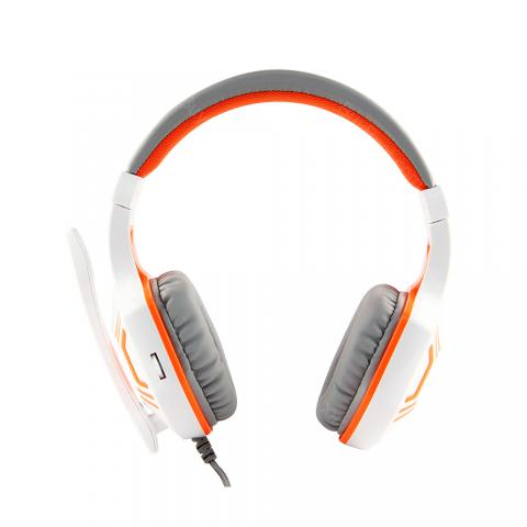 cheap YPZ YD100 Gaming Headset - White/Orange