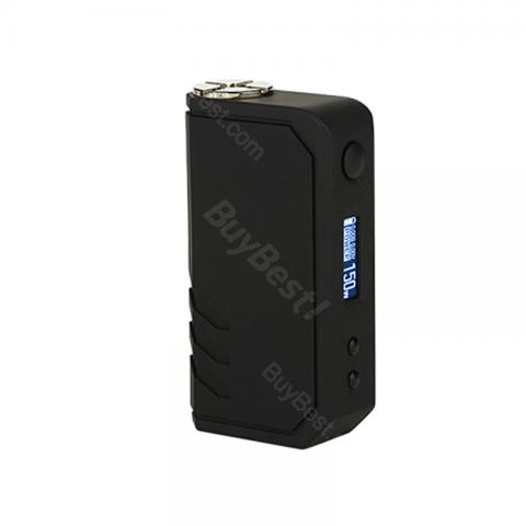 cheap 150W Encom Snow LeoPard TX VW/TC Box MOD - Black/Black