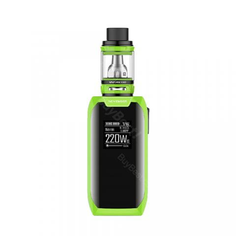 cheap 220W Vaporesso Revenger X TC Kit with NRG Tank - Green 5ml