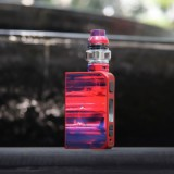200W CoilART LUX 200 Starter Kit with LUX Mesh Tank - Red-1